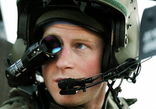 Princ měl možnost pracovat pět měsíců s nejmodernějším vojenským vybavením.