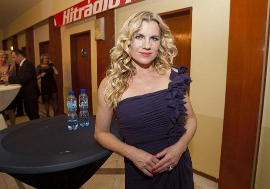 Šaty zpěvačku stály dvě stě tisíc korun.