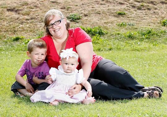 Kelly-Marie Pearce a její děti