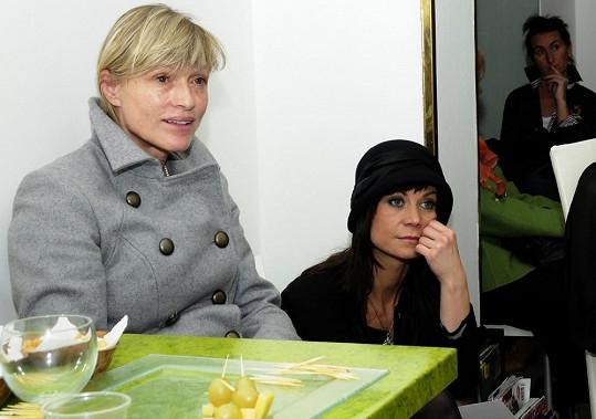 Markéta Tanner chodí na kliniku s kamarádkou, herečkou Šárkou Ulrichovou.