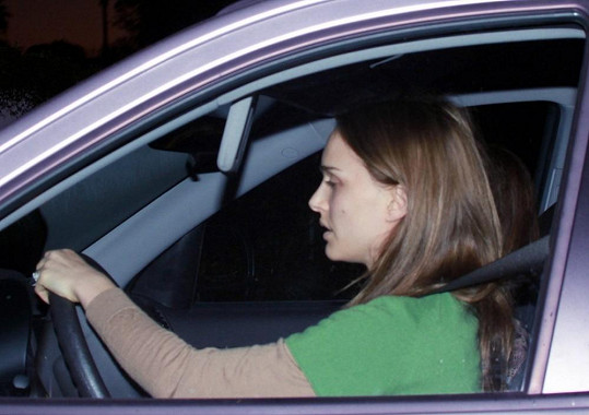 Natalie Portman působila hodně vyčerpaně.