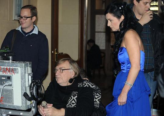 A s manželem, režisérem Vítem Olmerem
