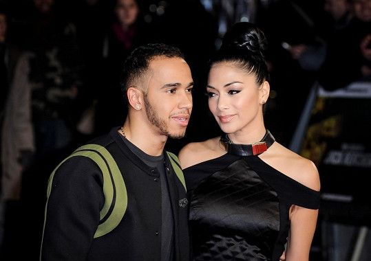 Láska mezi Nicole a Lewisem Hamiltonem je minulostí.