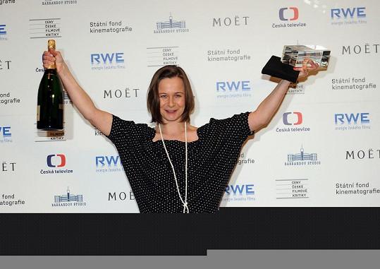 Petra Špalková získala cenu jako nejlepší herečka v hlavní roli.