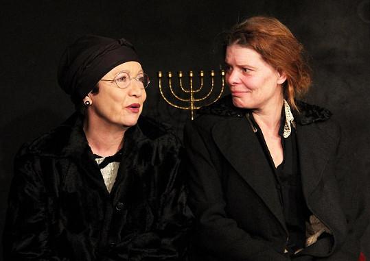 Hana Maciuchová a Zuzana Bydžovská se potkávají v Ungeltu.