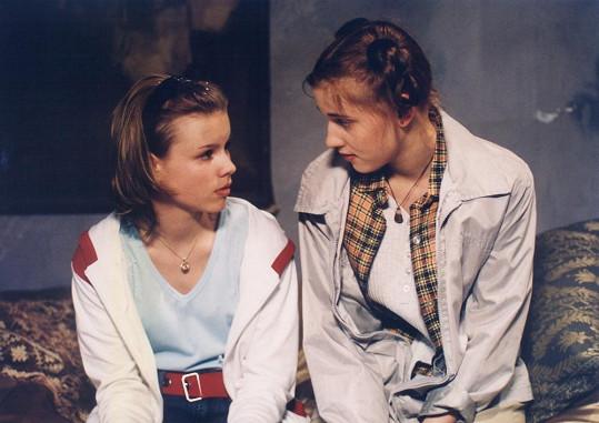 Patricie Solaříková v pohádce Zakletá třináctka, kterou natočila rok před startem seriálu Ulice.