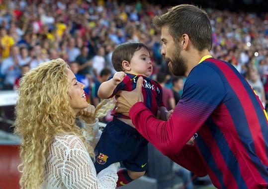 Shakira, Gerard a Milan