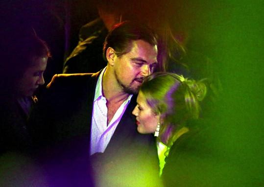 Leo s Toni na jedné párty v Cannes