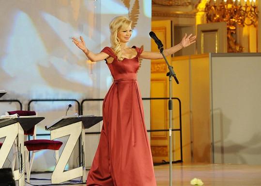 Natali Ruden přišla poděkovat publiku.