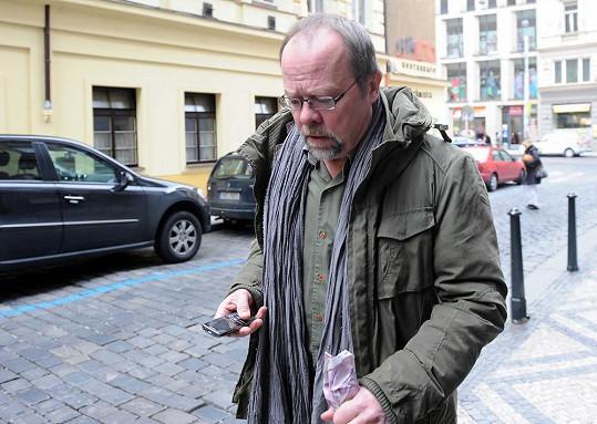 Rozloučit se přišel i Ivan Řezáč.