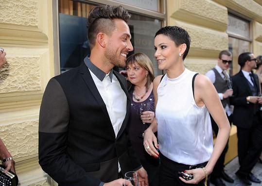 Tomáš Arsov s Vlaďkou Erbovou.