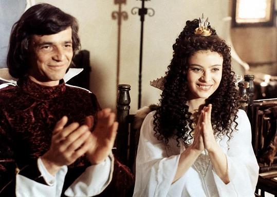 Princeznu si zahrála i v pohádce Třetí princ.