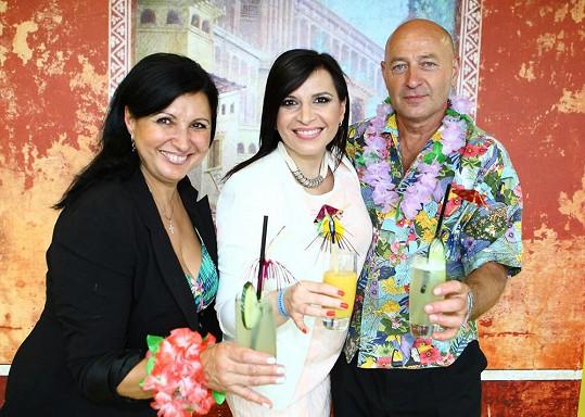 Andrea s rodiči