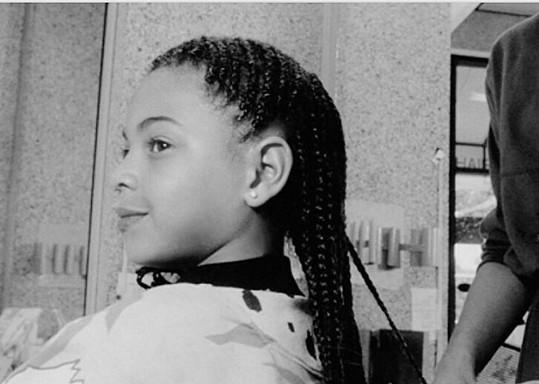 Beyoncé nosila tento účes už jako dítě.