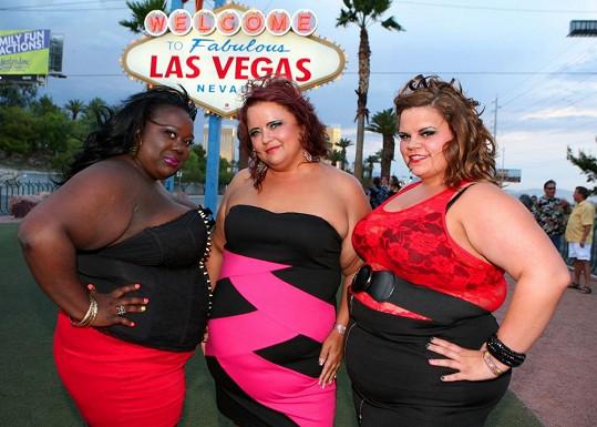 V Las Vegas jsou k vidění striptérky velikosti XXXL.