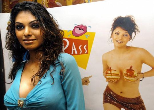 Sherlyn Chopra je hvězdou filmů pro dospělé.