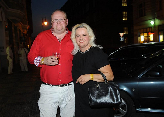 Monika Štiková s manželem Michalem