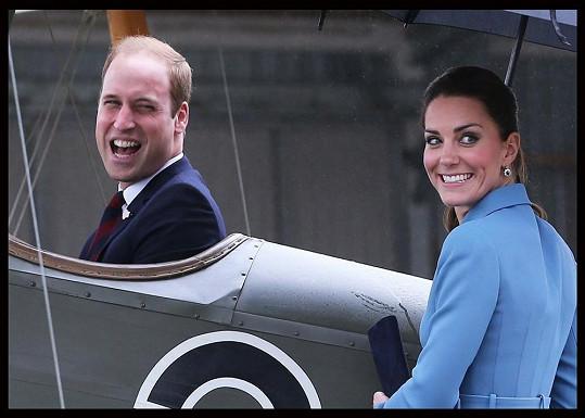 William byl u vytržení, že si po dlouhé době mohl oživit vzpomínky na pilotování letadla.