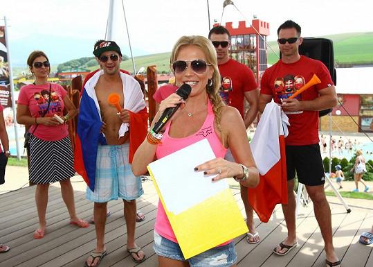 Michaela Ochotská v Tatrách moderovala slavnostní otevření letní sezony v Tatralandii.