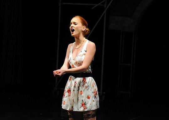 Hrát v muzikálu Fantom opery je pro Terezu velký sen. Představení viděla během své návštěvy Londýna, když zde dělala zkoušky na Královskou akademii.