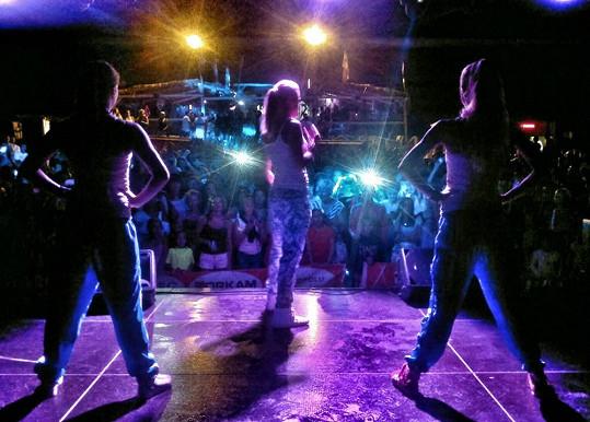 Popová diva oslavila svůj svátek vystoupením v Primorsku.