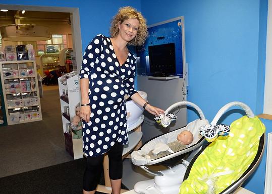 Kateřina Stočesová je v sedmém měsíci těhotenství. Přibrala už dvacet kilo.