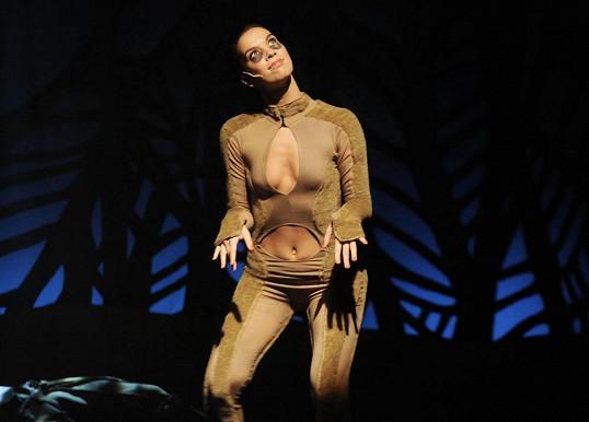 Radka Pavlovčinová předvedla své tělo v obtaženém kostýmu.