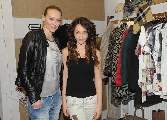 Martina s dcerou.