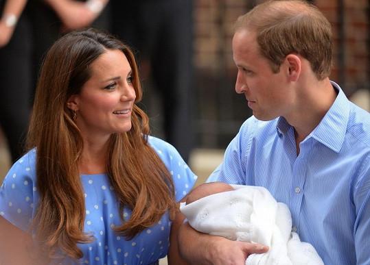 Křest prince George se koná právě dnes.