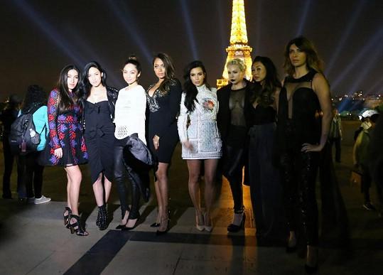 Paříž se dočkala vzácné návštěvy.