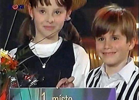 S kamarádkou Martinou tehdy vyhráli.