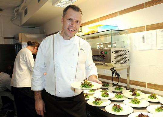 Roman Hadrbolec jako kuchař boduje i ve světě.