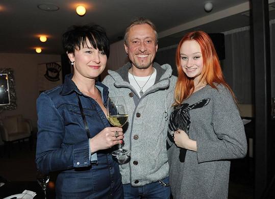 Kamil s rodinou
