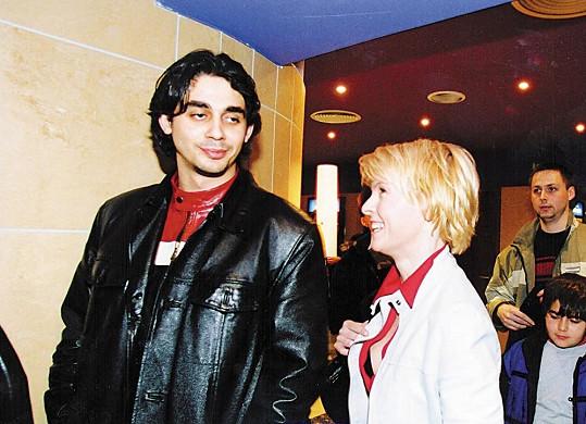 Iveta Bartošová a Karol Csino spolu chodili v roce 2002.