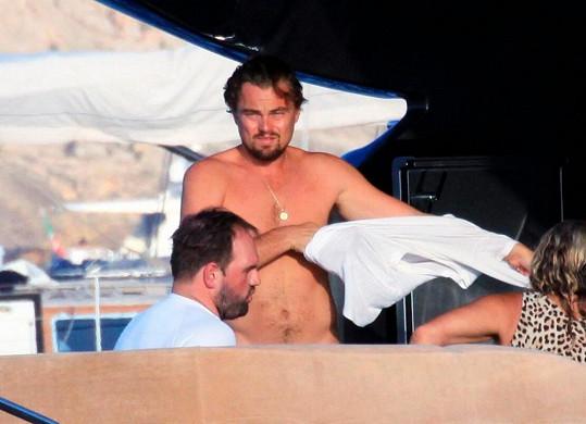 Leonardo DiCaprio na Ibize.