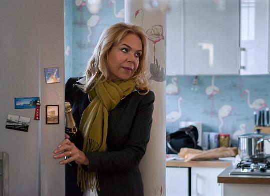 Dagmar Havlová si zahrála také v novém seriálu Nevinné lži.