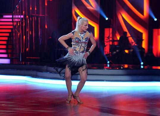 Anna Polívková má skvělou postavu.
