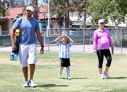 Kendra s manželem Hankem Baskettem a jejich synem Hankem. Nyní do rodiny přibyla i dcera Alijah.
