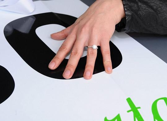 Detail prstenu.