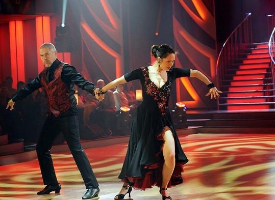 Došlo i na vášnivý tanec...
