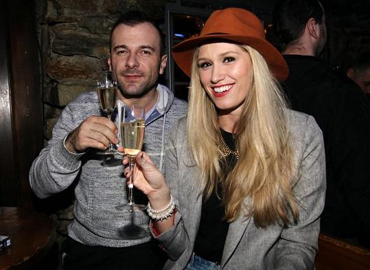 Na párty nemohla chybět večírková královna Míša Štoudková.