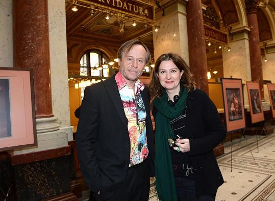 Karel Roden s režisérkou Irenou Pavláskovou