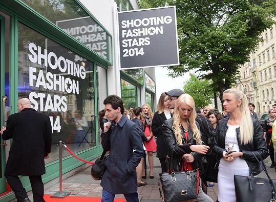 Módní událost Shooting Fashion Stars poprvé ve zrekonstruovaném Mánesu.