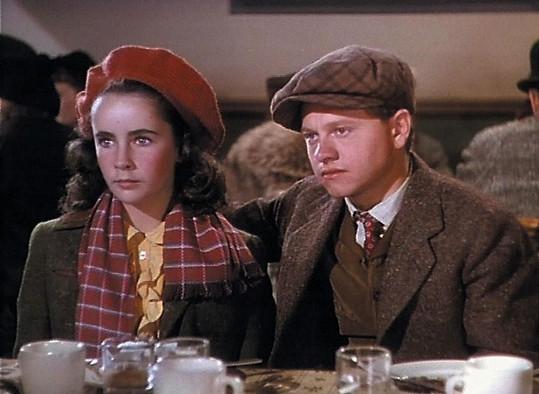 S Liz Taylor hrál v řadě filmů...