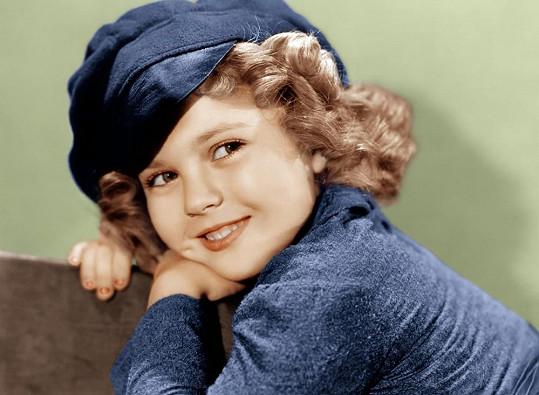 Shirley Temple byla nejvýraznější dětskou filmovou hvězdou.