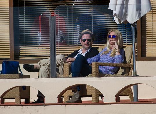 Claudia Schiffer s manželem