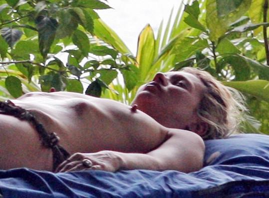 Kate odpočívá v Thajsku.