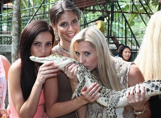 Děvčata se vůbec necítila ohrožená.