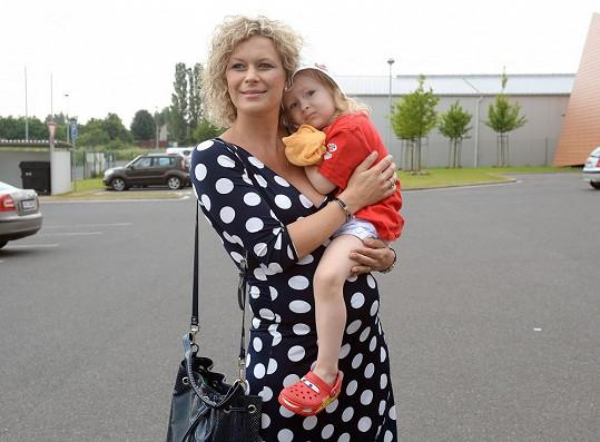 Kateřina Stočesová už má tříletou dceru Anne Marii.