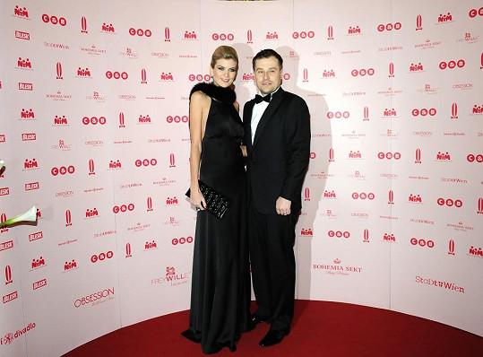 Iveta s manželem Jaroslavem Vítem.